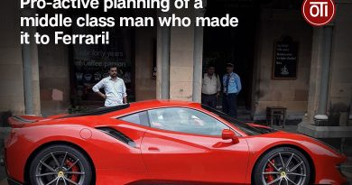Pro-active planning of a middle class man who made it to Ferrari