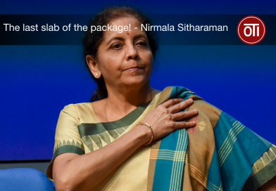 The last chunk of Rs. 20 Lakh crores addressed by our FM, Nirmala Sitharaman.